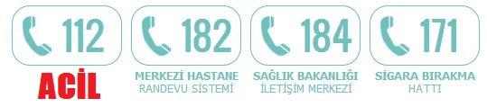 Gerekli Telefonlar